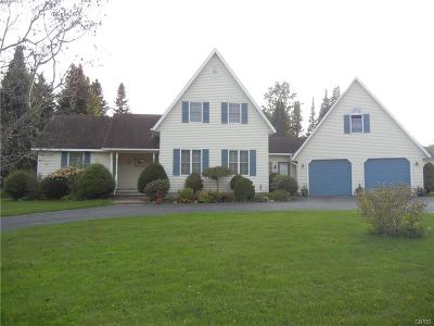 Lowville NY Single Family Home Sold: $249,000