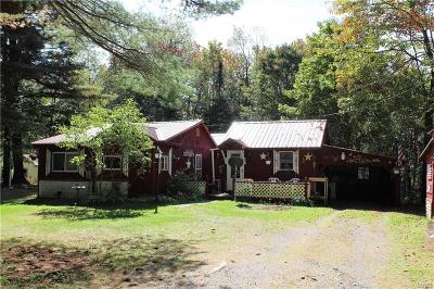 Lyonsdale NY Single Family Home Sold: $49,900