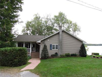Jefferson County, Lewis County Single Family Home A-Active: 7472 Sister Islands Road