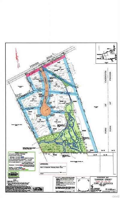 Cazenovia Residential Lots & Land A-Active: 3330 Cannon Crest Drive