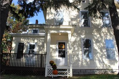 Lowville NY Single Family Home Sold: $97,800