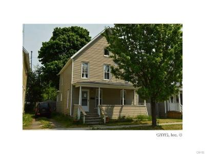 Watertown-City NY Single Family Home A-Active: $71,000