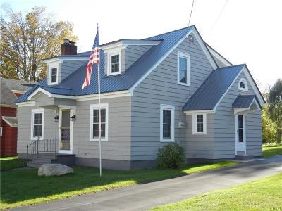 Denmark NY Single Family Home Sold: $145,000