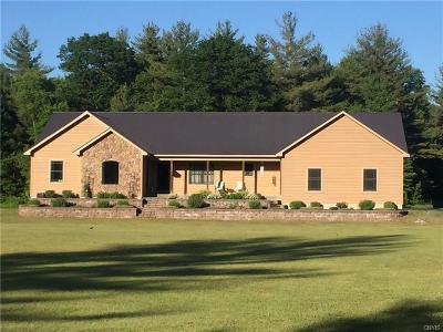 Jefferson County, Lewis County Single Family Home A-Active: 8324 Van Amber Road