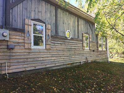 West Almond NY Single Family Home A-Active: $54,900