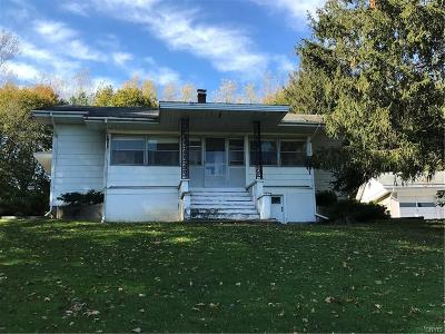 Single Family Home A-Active: 4839 West Lake Road
