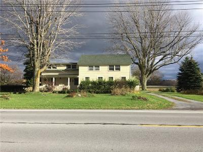 Adams Single Family Home A-Active: 11490/519 Us Rte-11 Highway