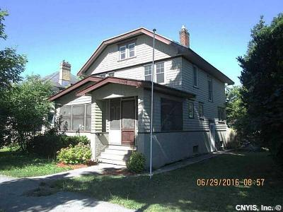 Watertown-City NY Single Family Home A-Active: $185,000
