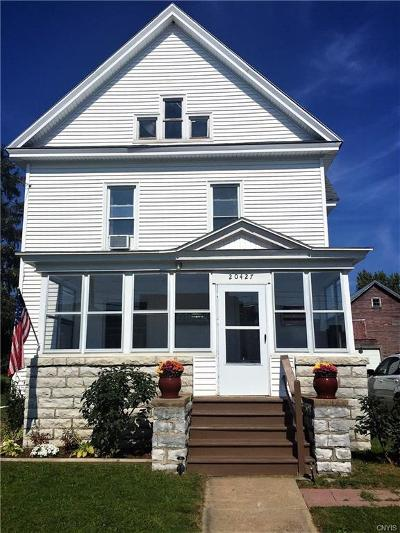 Orleans NY Single Family Home A-Active: $149,900