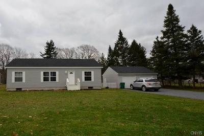 Jefferson County, Lewis County Single Family Home A-Active: 26458 Nys Route 3