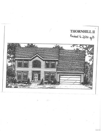 Syracuse Single Family Home A-Active: Lot 84 Outlook Drive