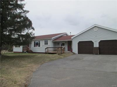 St Lawrence County Single Family Home A-Active: 341 State Highway 3