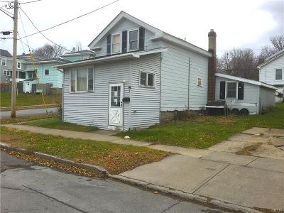 Oswego-City NY Single Family Home U-Under Contract: $19,900