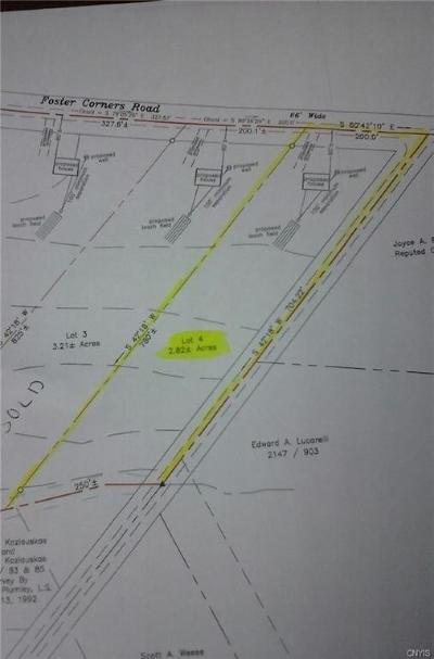 Residential Lots & Land A-Active: 3394 Foster Street