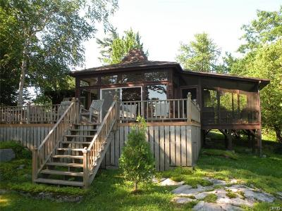 Single Family Home A-Active: 47245 Iroquois Island Shore Road