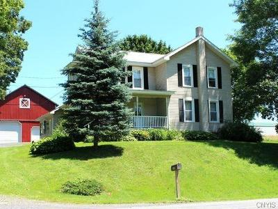 Cato Single Family Home U-Under Contract: 12976 State Route 34