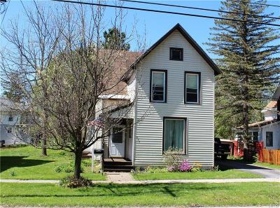 Carthage NY Single Family Home A-Active: $145,000