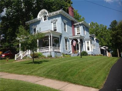 Lowville NY Single Family Home Sold: $167,000