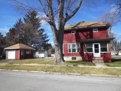 Watertown-City NY Single Family Home A-Active: $94,900