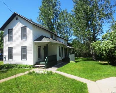 Antwerp NY Single Family Home A-Active: $119,000
