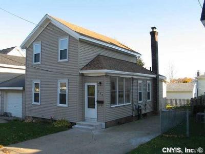 Oswego-City NY Single Family Home A-Active: $64,900
