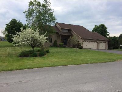 Lowville Single Family Home A-Active: 5203 Hillcrest Circle
