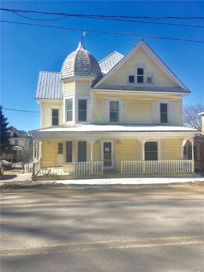 Morristown NY Single Family Home A-Active: $18,000