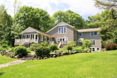 Cazenovia Single Family Home A-Active: 2870 West Lake Road