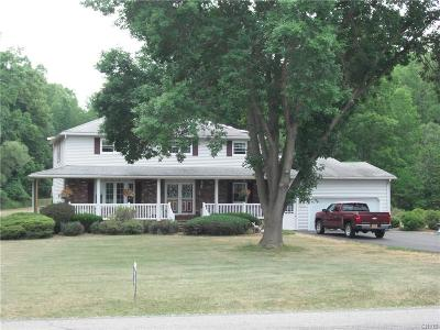 Owasco Single Family Home A-Active: 5860 East Lake Road