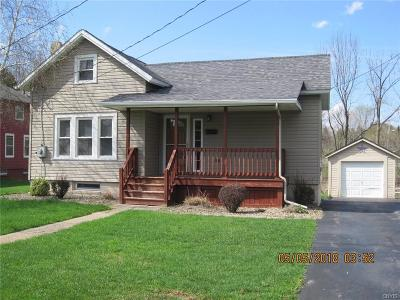 Sherrill NY Single Family Home Under Contract: $109,900