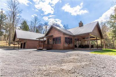 Jefferson County, Lewis County Single Family Home A-Active: 6153 Partridgeville Road