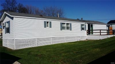 Cape Vincent Single Family Home A-Active: Lot #38 Sunset Shores Mobile Home Park