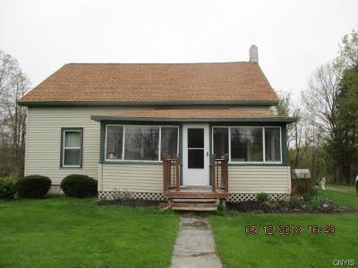 Cazenovia Single Family Home A-Active: 3025 Fenner Rd