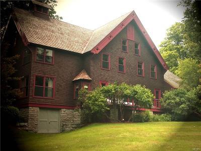 Cazenovia Single Family Home A-Active: 4709 East Lake Road