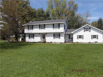 New Bremen NY Single Family Home Sold: $192,000