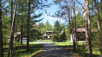 Jefferson County, Lewis County Single Family Home A-Active: 8141 Number Four Road
