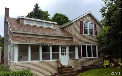 Jefferson County, Lewis County Single Family Home A-Active: 32769 State Route 3