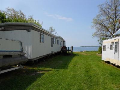 Cape Vincent Single Family Home A-Active: 2410 Ponds Shore Dr Drive