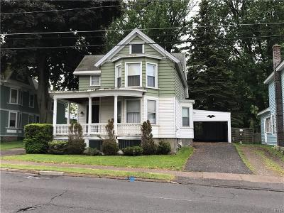 Oswego-City NY Single Family Home U-Under Contract: $79,900