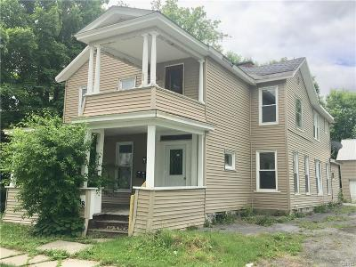 Watertown-City NY Single Family Home A-Active: $59,500
