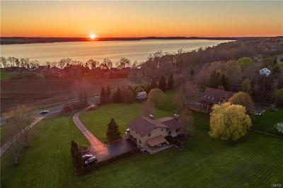 Owasco Single Family Home A-Active: 5916 East Lake Road