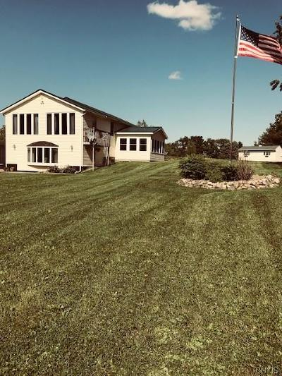 Jefferson County Single Family Home A-Active: 11996 County Route 155