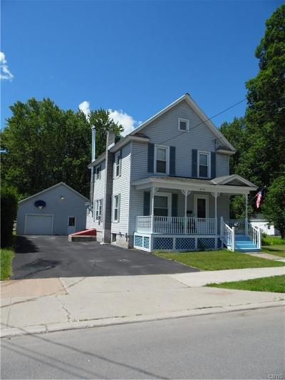 Carthage NY Single Family Home A-Active: $125,000