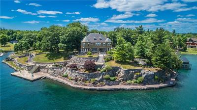 Wellesley Island NY Single Family Home A-Active: $3,995,000