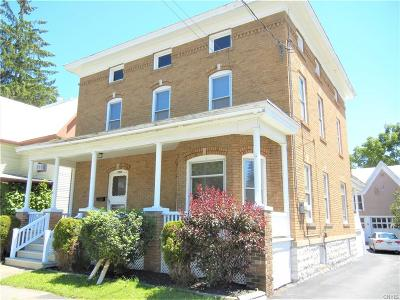 Lowville NY Single Family Home A-Active: $199,500