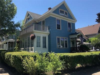 Oswego-City Single Family Home A-Active: 40 East Mohawk Street