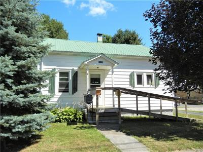 Lowville NY Single Family Home A-Active: $85,500