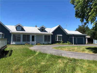 Jefferson County, Lewis County Single Family Home A-Active: 9007 Nys Route 3