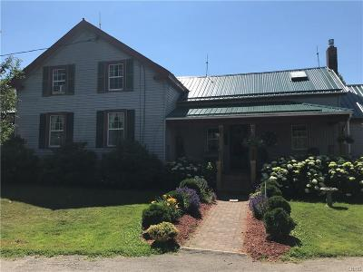 St Lawrence County Single Family Home A-Active: 225 Wood Road