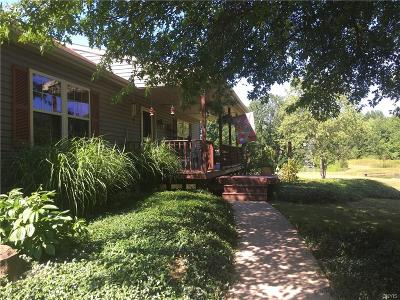 Mexico Single Family Home U-Under Contract: 118 Fish Road Road